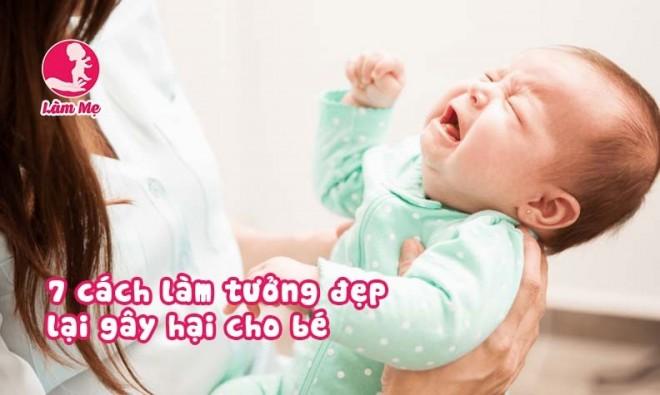 7 nguy hại khi làm đẹp cho trẻ sơ sinh mẹ cần tránh trước khi quá muộn