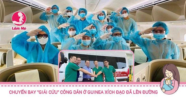 """Chuyến bay """"giải cứu"""" công dân Việt từ Guinea Xích Đạo đã cất cánh"""