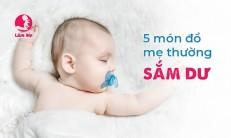 Cảnh báo lãng phí với 5 món đồ mẹ thường sắm dư cho bé