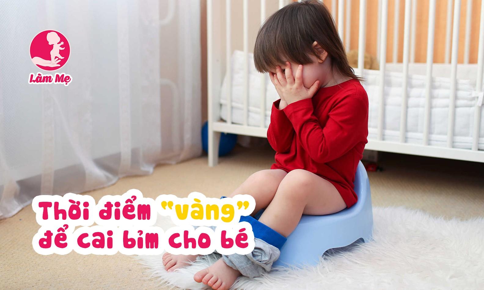 Khi nào mẹ nên cai bỉm cho bé?