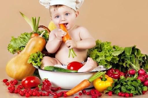 bé chậm mọc răng nên ăn gì