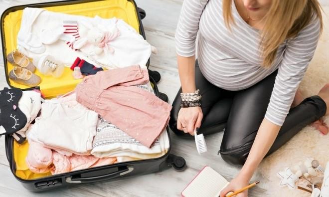 Hành trang đi sinh của mẹ bầu cần có những gì?