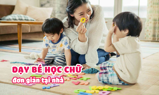 Bí kíp giúp bé mẫu giáo học chữ siêu đơn giản