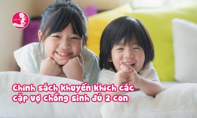 Tin vui: Sinh đủ 2 con được giảm thuế, ưu tiên mua nhà, hỗ trợ chi phí giáo dục
