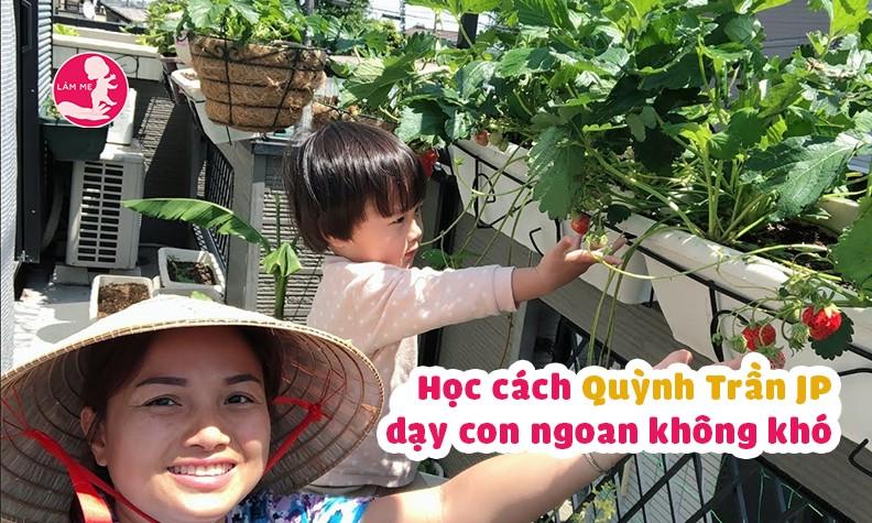 Bé Sa ngoan ngoãn tự lập dù mới 3 tuổi chính là nhờ cách dạy con cực khéo của Quỳnh Trần JP