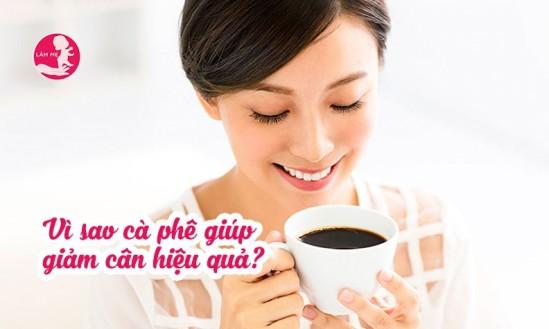 Giảm cân hiệu quả thần sầu nhờ cà phê