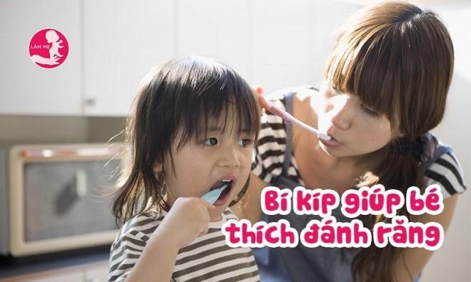 7 cách mẹ có thể giúp bé thích đánh răng