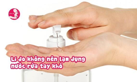 Nước rửa tay khô ảnh hưởng nghiêm trọng đến làn da bạn như thế nào?