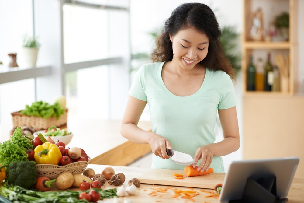 Trong 1 tháng qua, chị có nấu các món nào sau đây không?